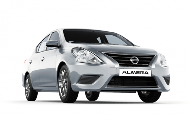 Nissan Almera for rent in Yerevan, Armenia