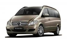 Mercedes Viano for rent in Yerevan, Armenia