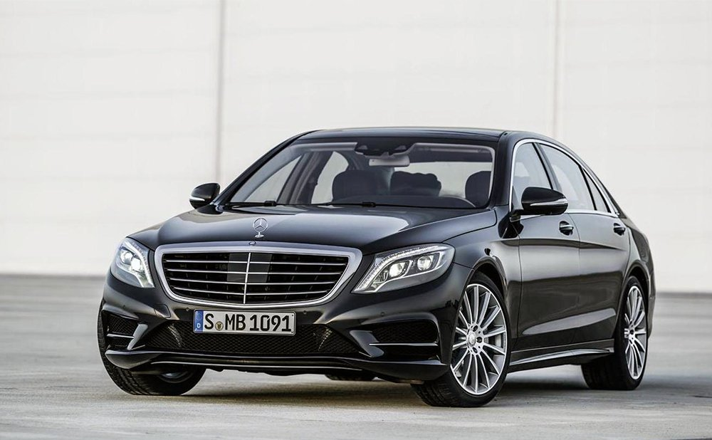 Transportation by a Mercedes S Class