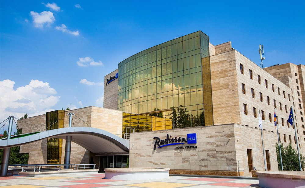 Accommodation at Radisson BLU hotel Yerevan