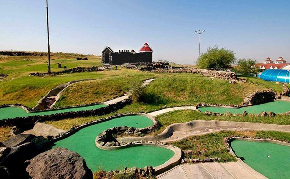 Mini golf in Yerevan