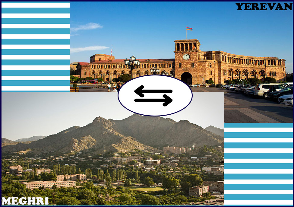 Transfer from Yerevan to Meghri